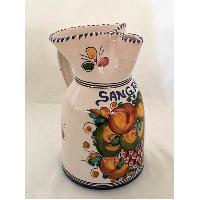 JARRA DE SANGRIA 20 CM FRUTAS VARIADAS